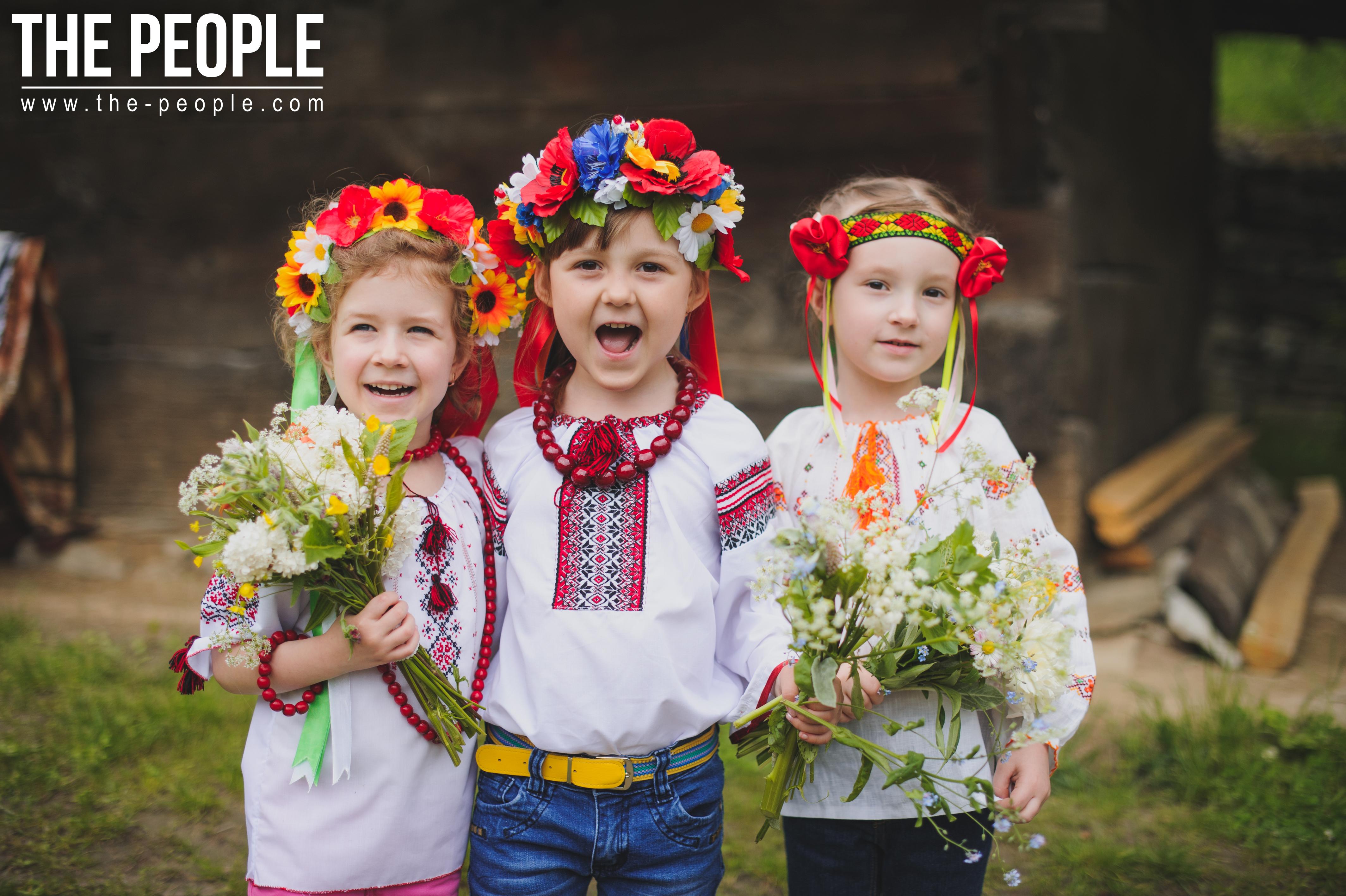 Дети в украинских костюмах картинки